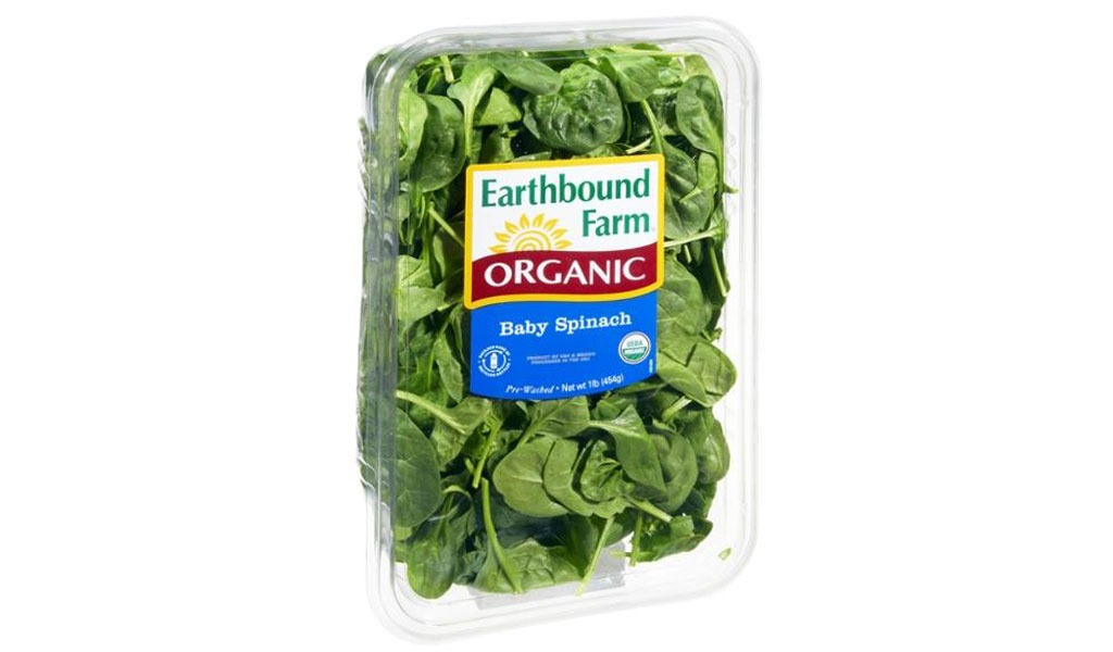 box of spinach
