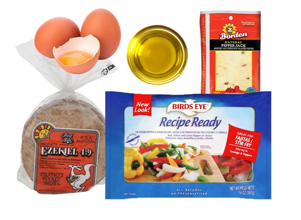 egg breakfast pitas