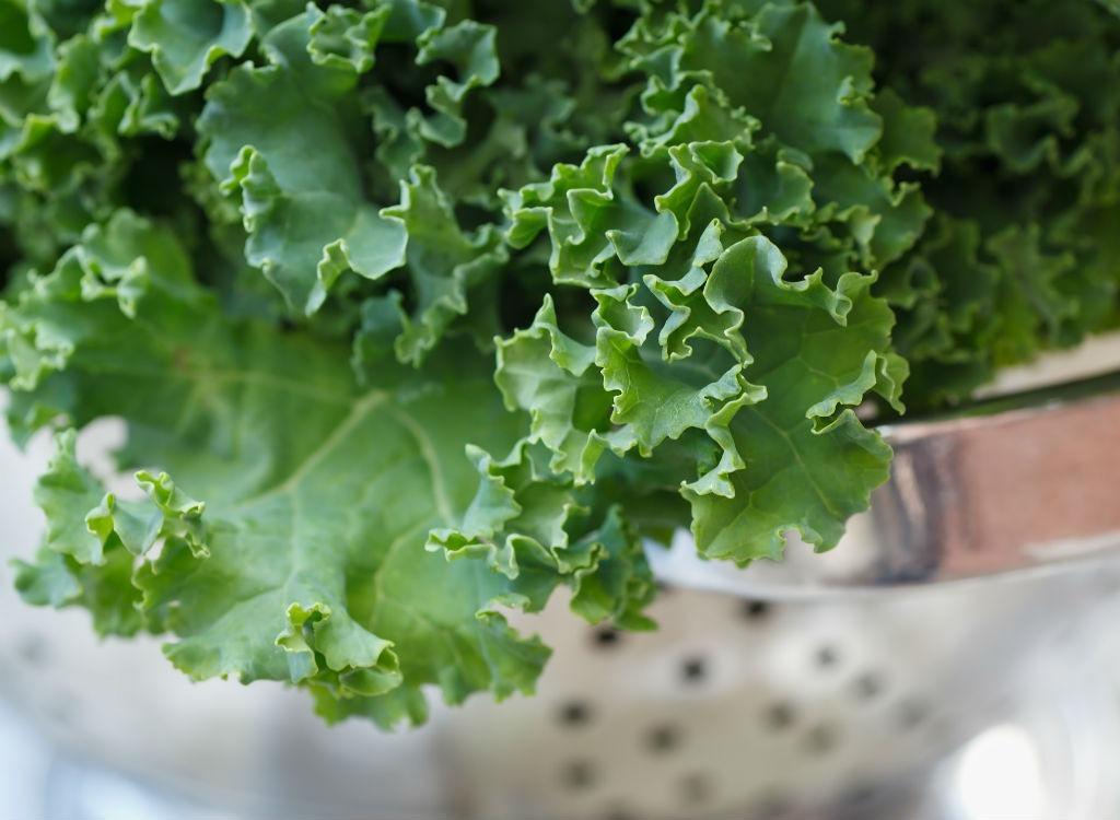 Prepare for nutrition kale