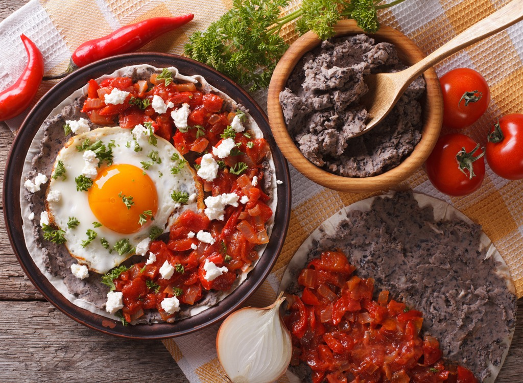 Black beans - healthy breakfast for weight loss