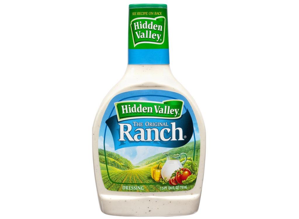 bottle of hidden valley ranch