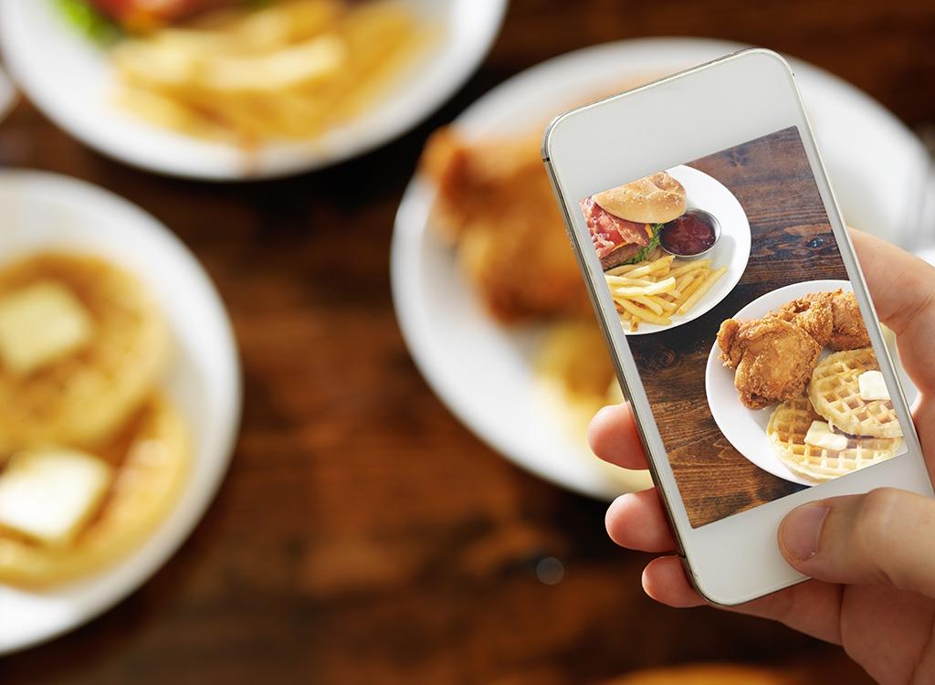 iphone photo of food instagram