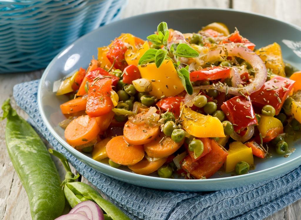 flavored frozen veggies