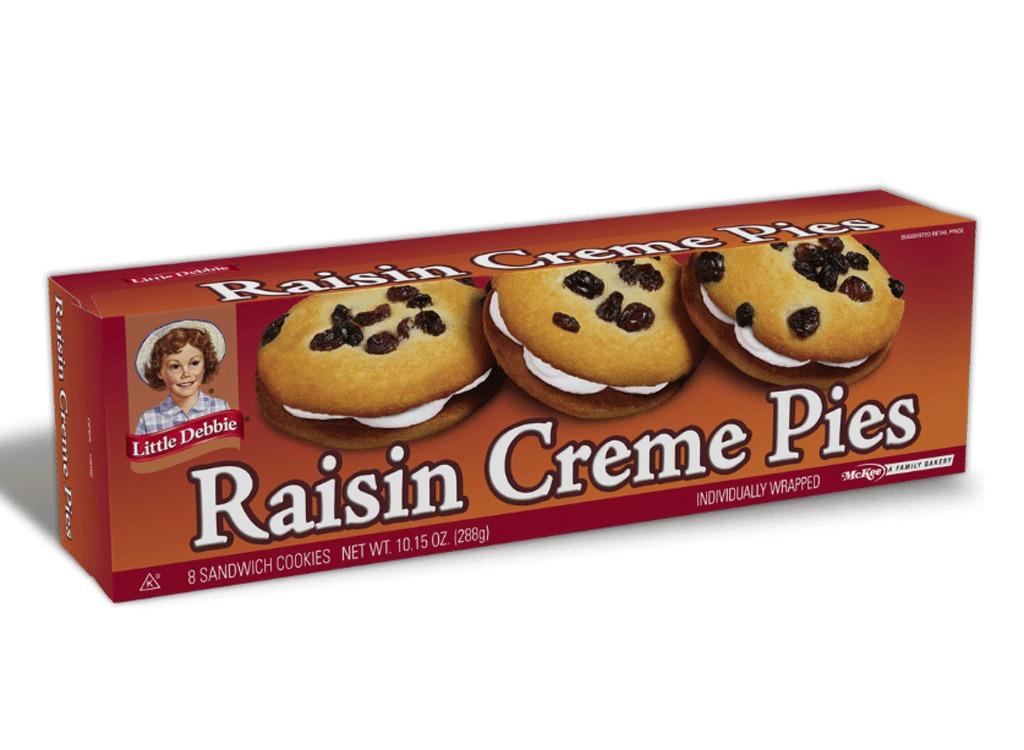 raisin creme pies