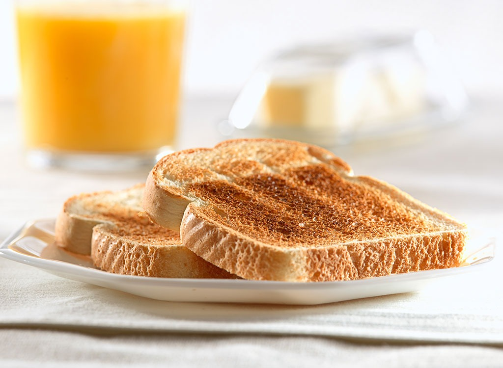 Prepare for nutrition toast