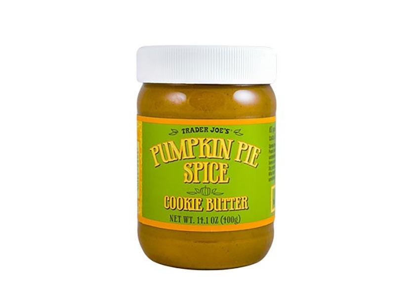 trader joes pumpkin cookie butter jar
