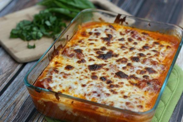 High Protein Vegetarian Meals Spaghetti Squash Lasagna