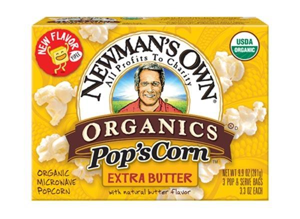 newman's own organic extra butter popcorn