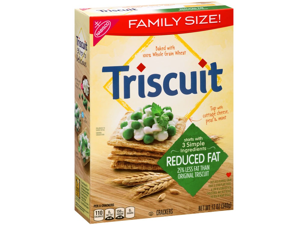 reduced fat triscuits