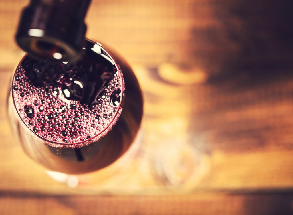 light-to-medium bodied red wines