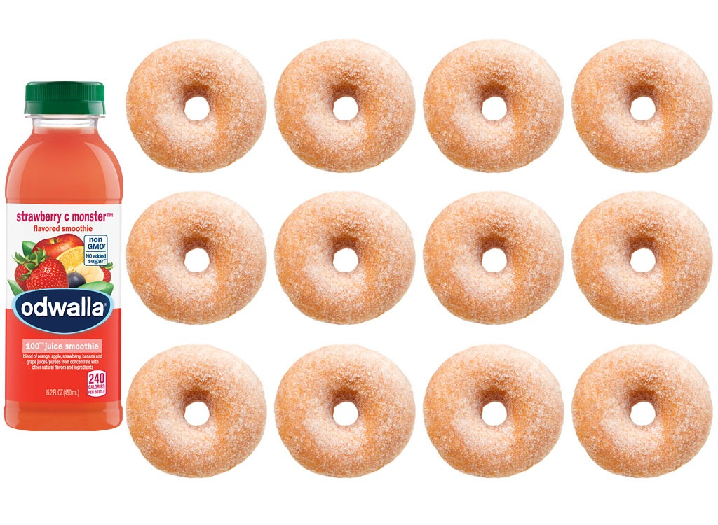 Foods worse than donut smoothie