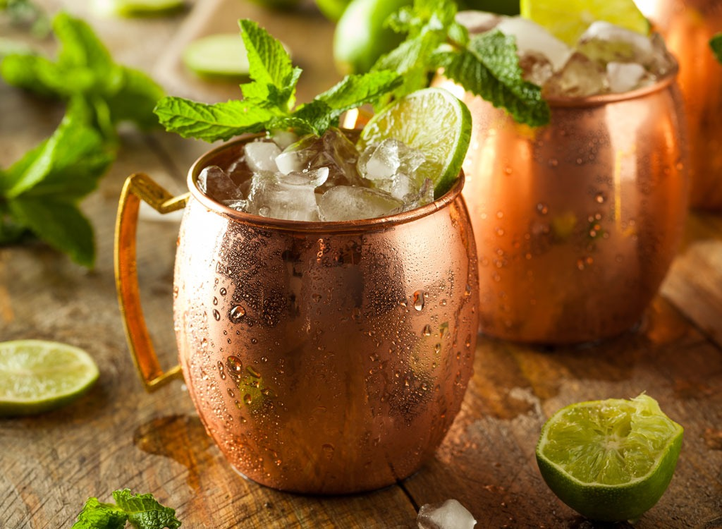 low cal cocktails moscow mule