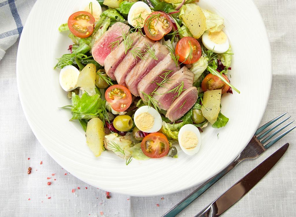 yellowfin tuna for vitamin b1