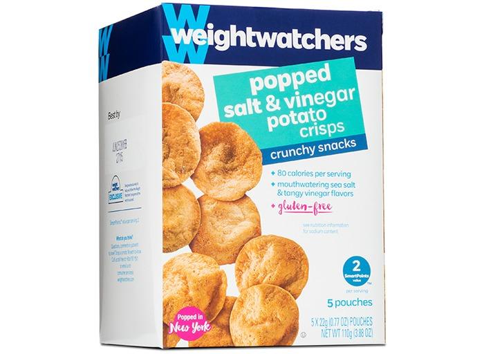 Weight Watchers Popped Salt Vinegar Potato Crisps