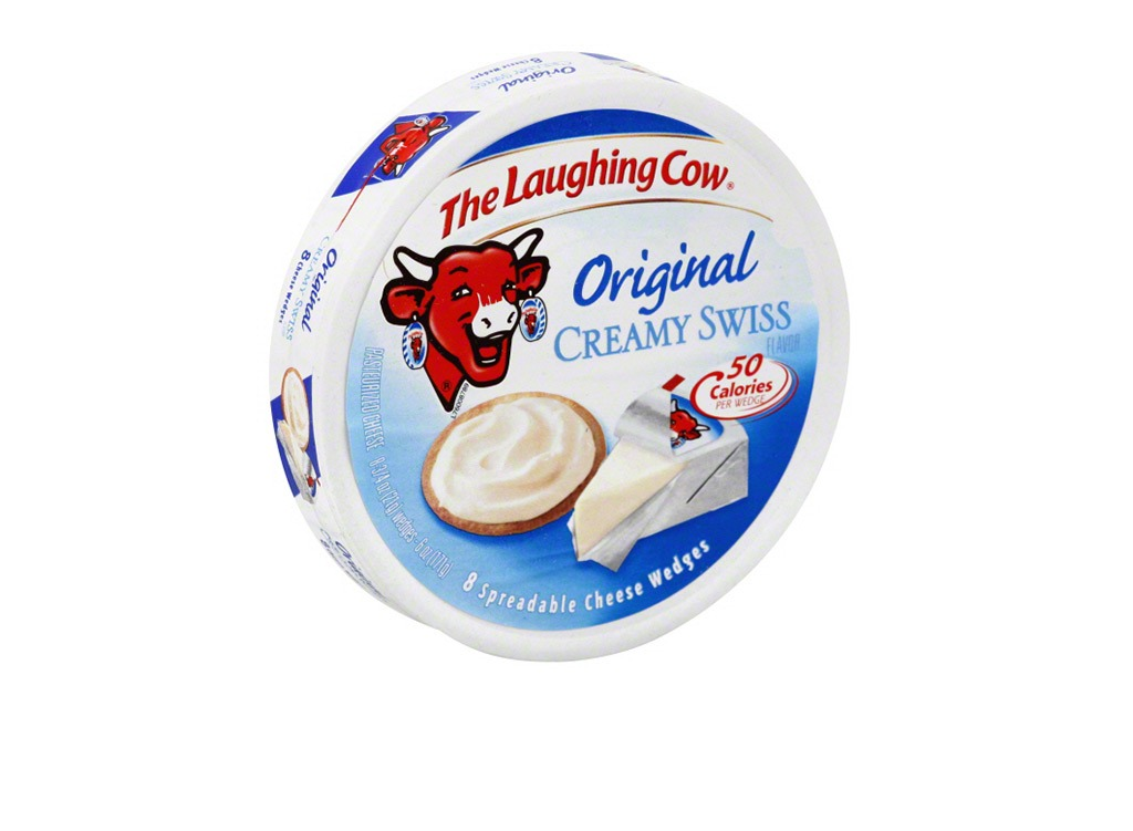 Laughing cow creamy swiss