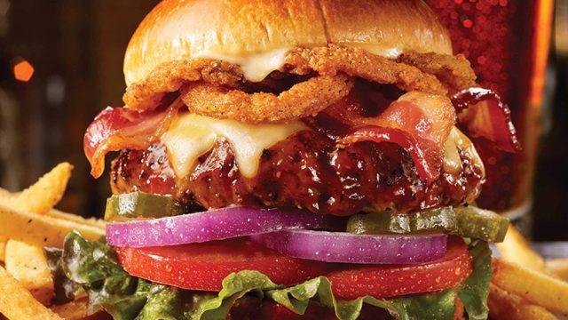 Tgi fridays bbqn burger