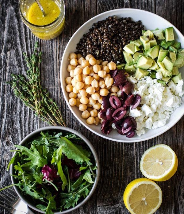 Pulse recipes salad