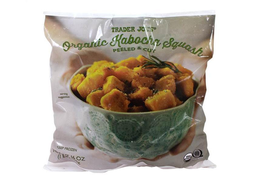 trader joes organic kabocha squash - best trader joe's frozen meals