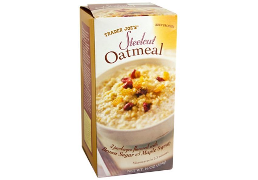 trader joes steelcut oatmeal - best trader joe's frozen meals