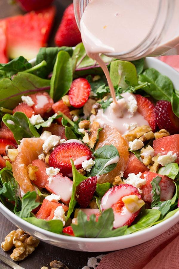 pink detox salad