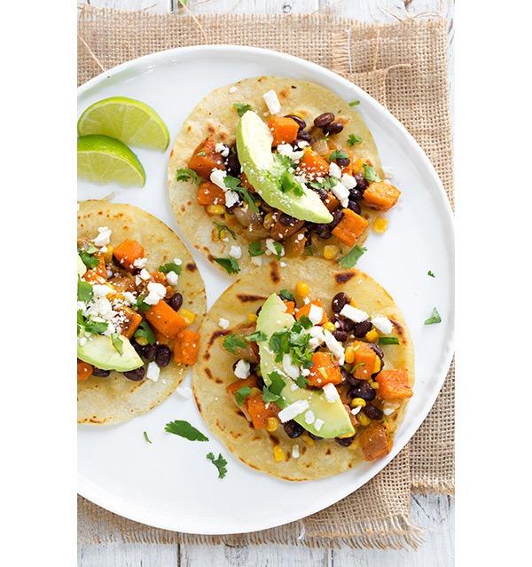 honey lime sweet potato tacos
