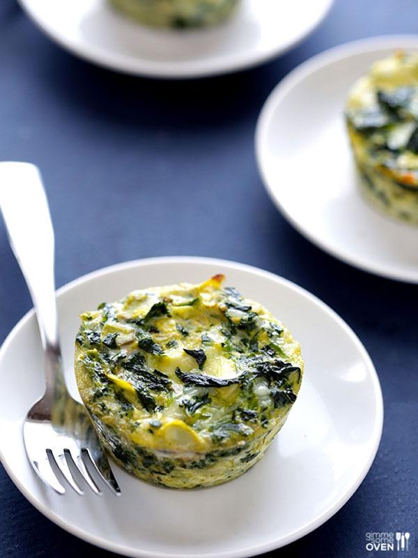 Desk lunch recipes spinach quiche