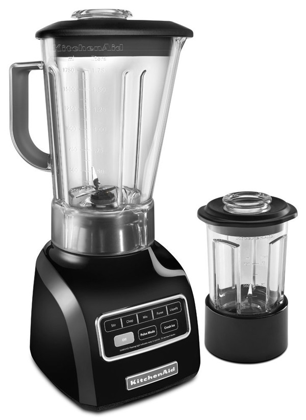 kitchenaid 5-speed blender with bpa-free pitcher & culinary jar