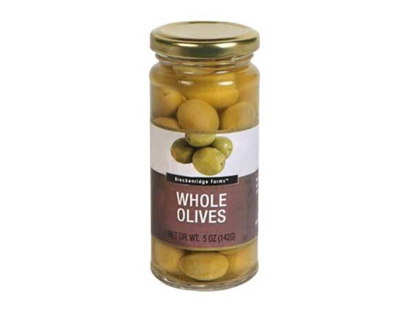 breckenridge farms whole green olives