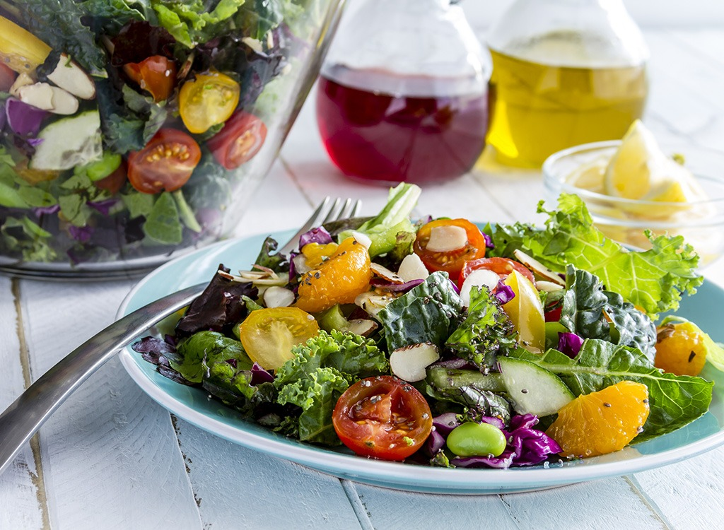 salad with chia seeds