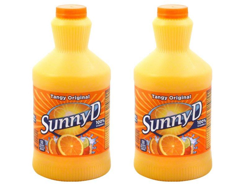 Untrustworthy foods sunny D