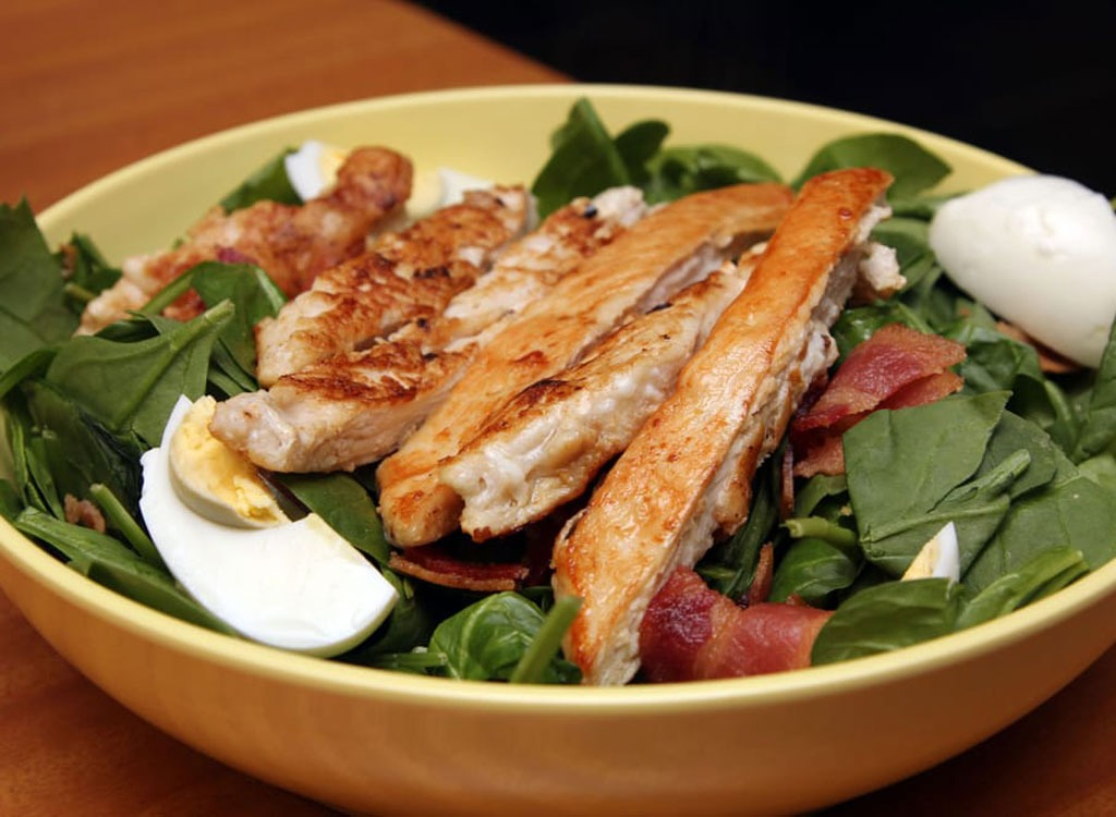 IHOP chicken spinach salad
