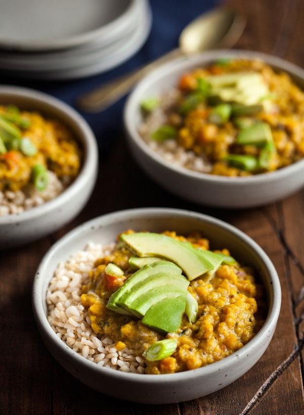 Bowl roundup yellow split pea breakfast porridge