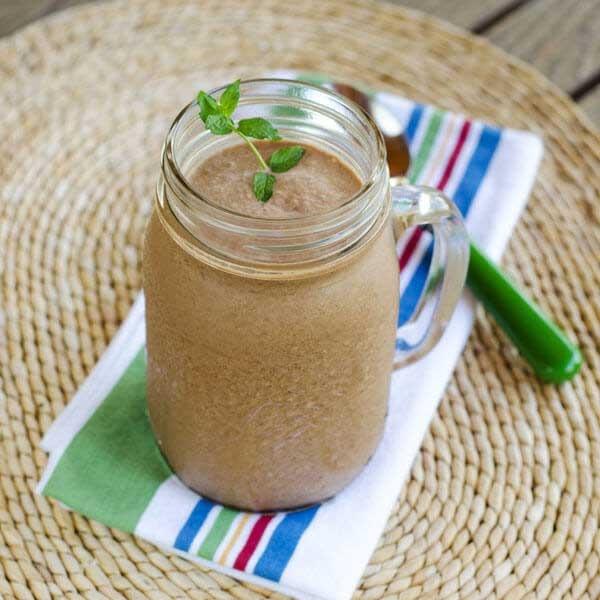 24. Paleo Chocolate Coconut Smoothie