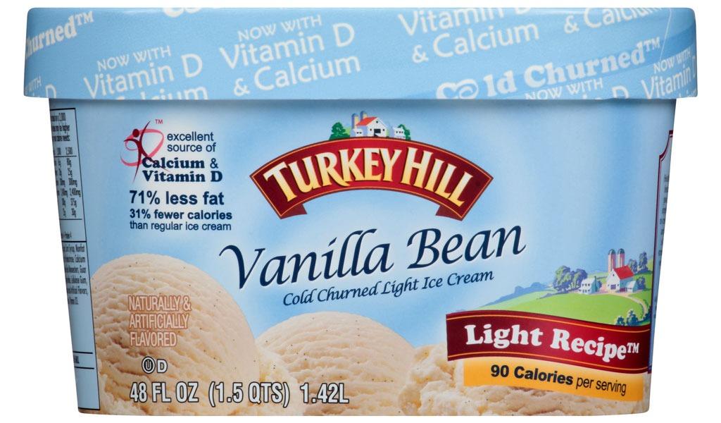 turkey hill light vanilla bean
