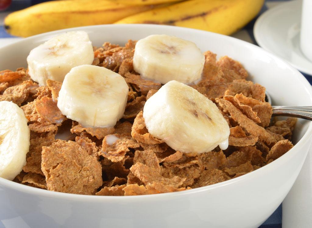 Cereal and banana