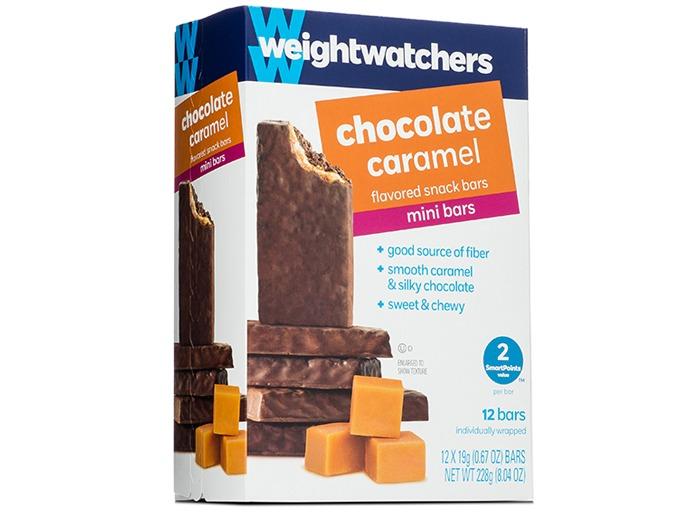 Weight watchers Chocolate Caramel Flavored Mini Bar