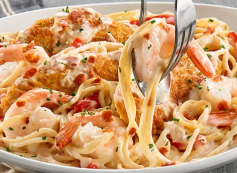 You Can Get Unlimited Pasta from Olive Garden for a Year—Today
