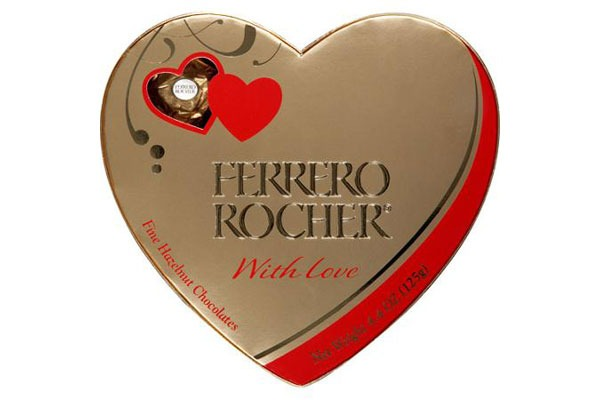 Valentines Candy Ranked Ferrero Rocher Fine Hazelnut Chocolates