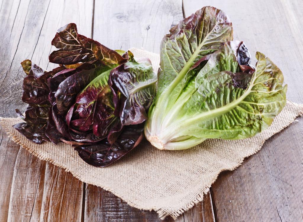 red-leaf lettuce