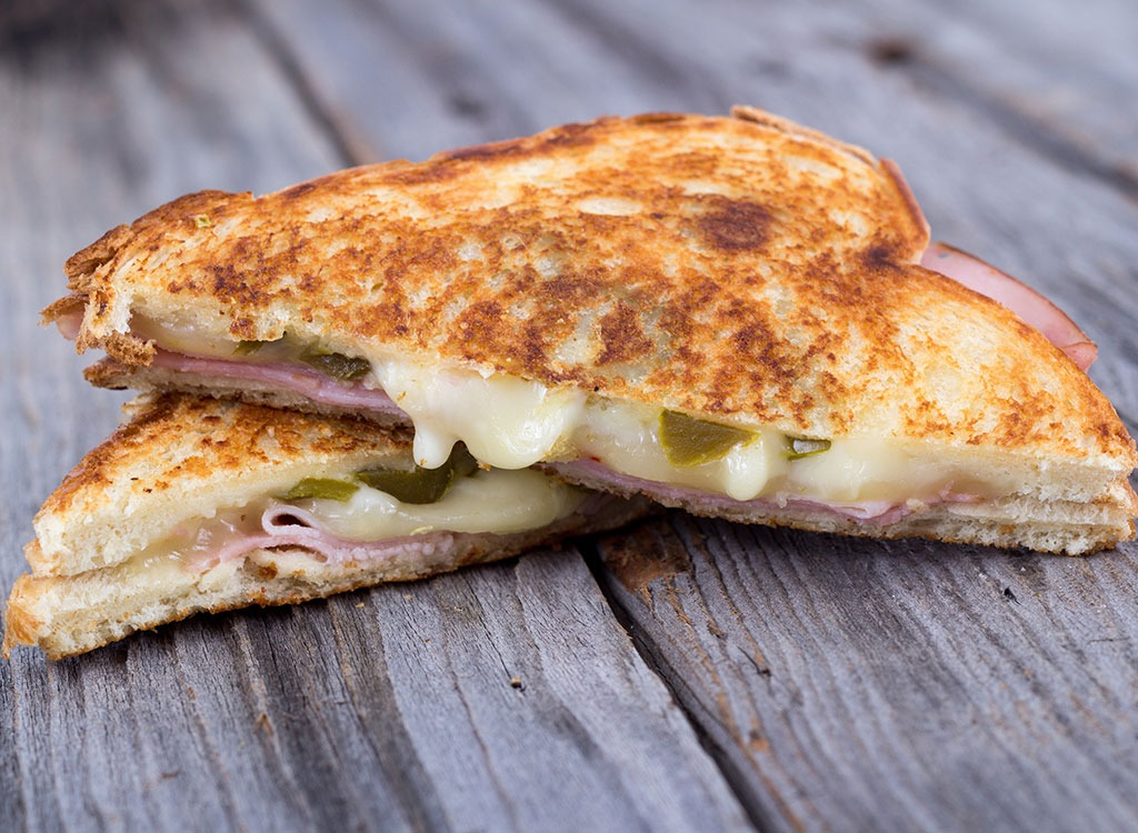 turkey & bacon grilled cheese