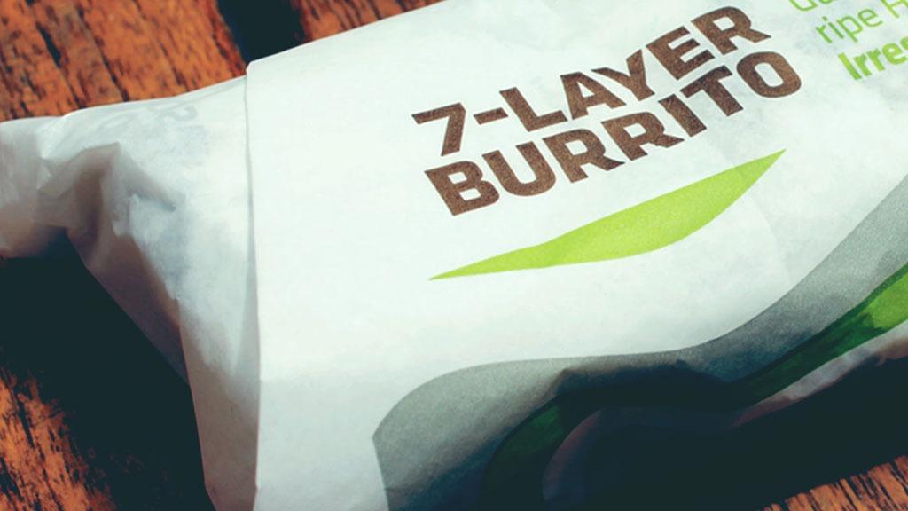 Taco bell 7 layer burrito