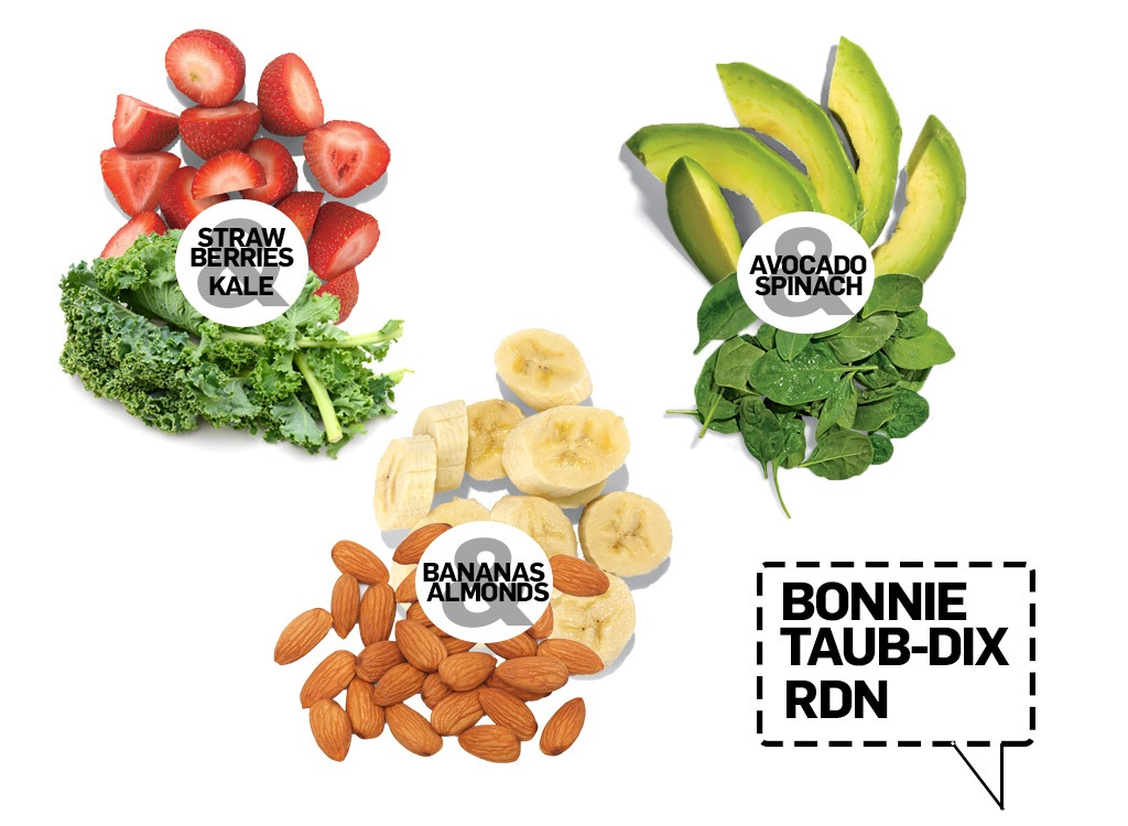 smoothie pairings from bonnie