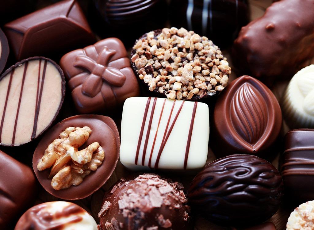 Untrustworthy foods white chocolate