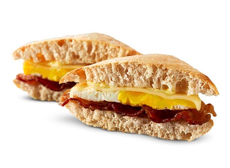 wendys artisan egg sandwich