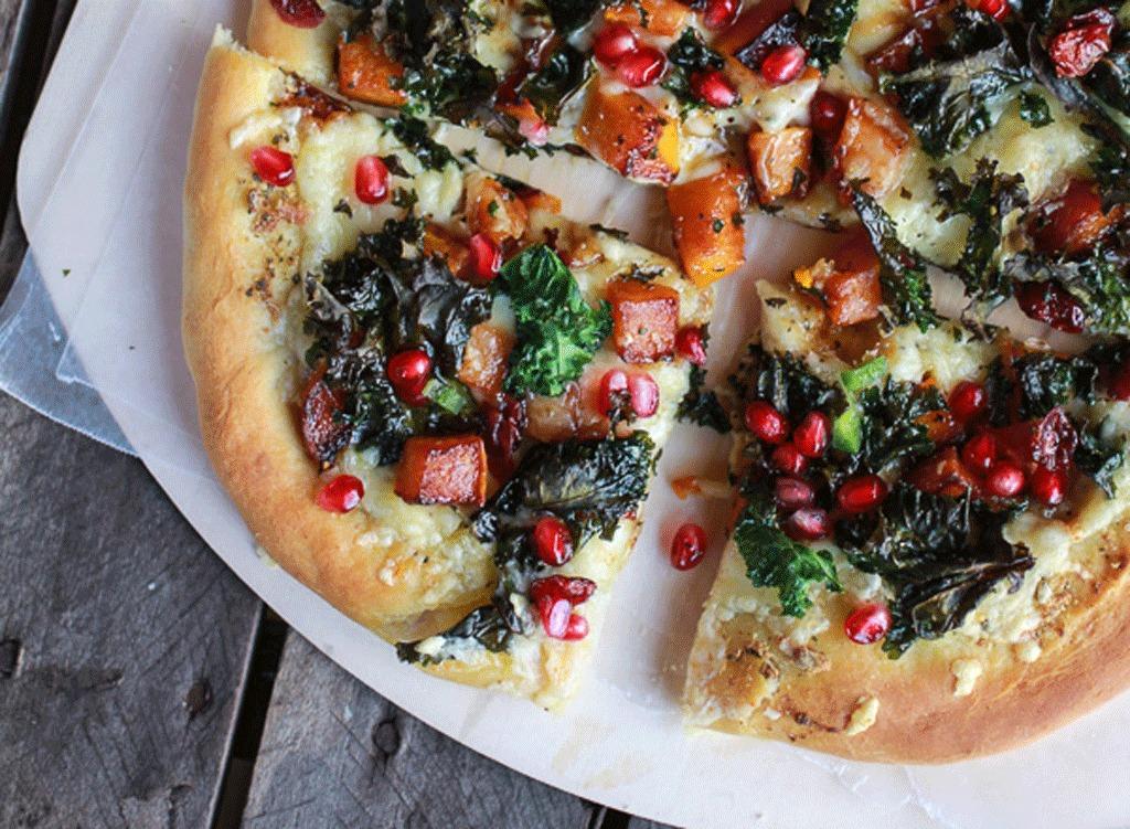 perfect winter pizza