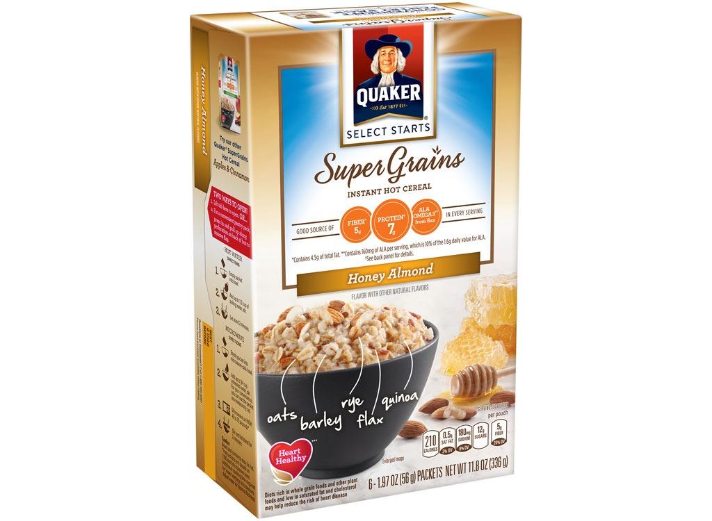 quaker supergrains honeyalmond