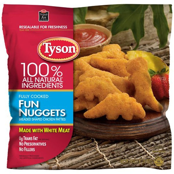 Tyson Dinosaur Fun Nuggets
