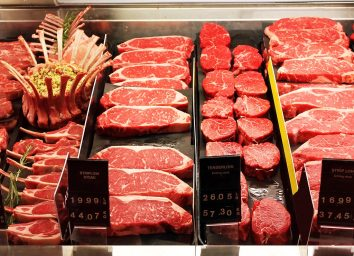 Meat teaser