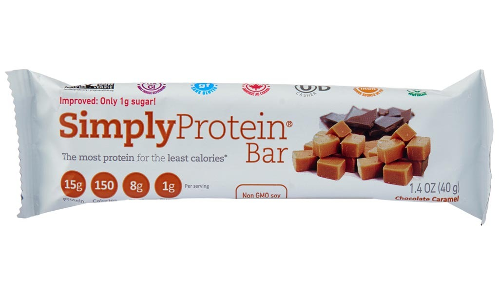 simply protein chocolate caramel