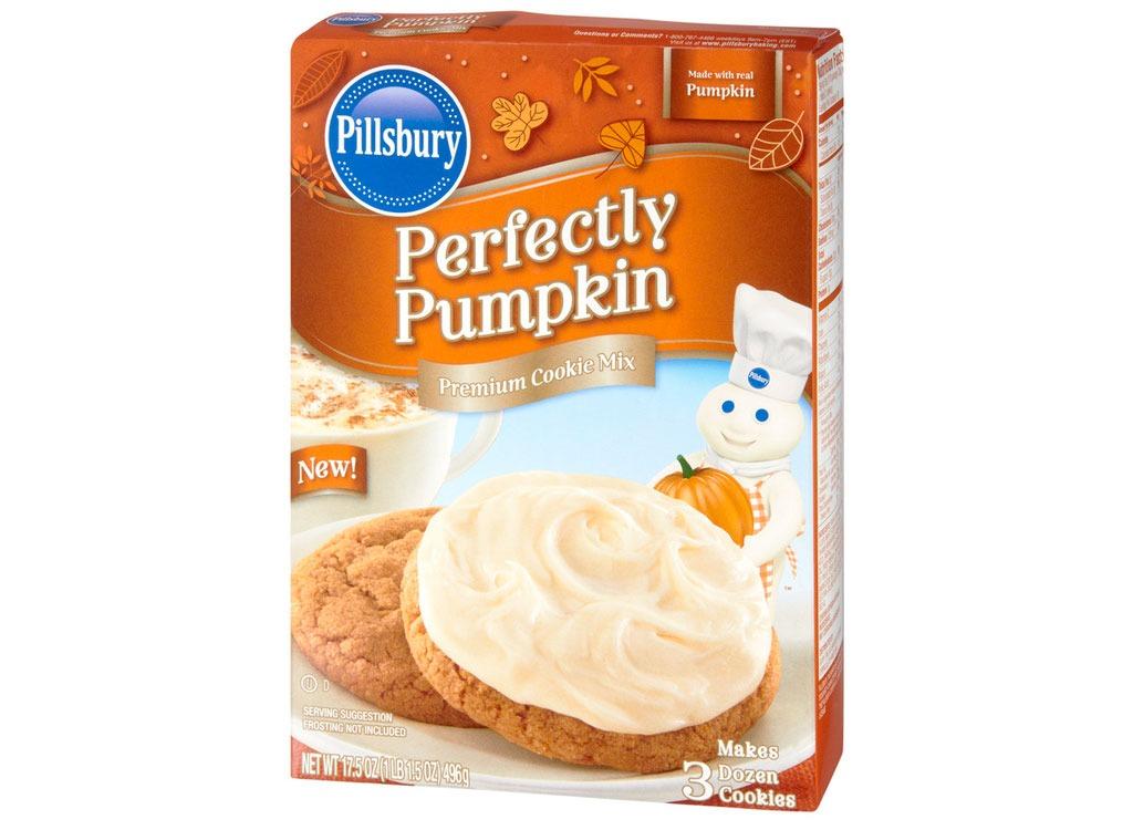 pillsbury pumpkin cookie mix